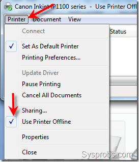 How to Make Printer Online in Windows 7 – From Offline