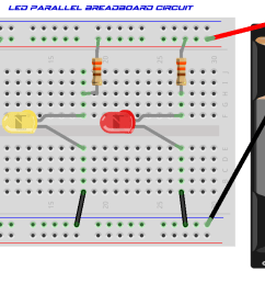 parallel circuit light bulbs in parallel with breadboard parallel circuit diagram [ 1240 x 700 Pixel ]
