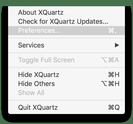 OSX: Use a GUI (X11) app in Docker | sysrun io