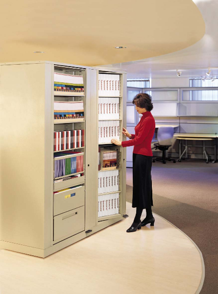 Rotary File Cabinets  RotaryStor High Capacity Storage