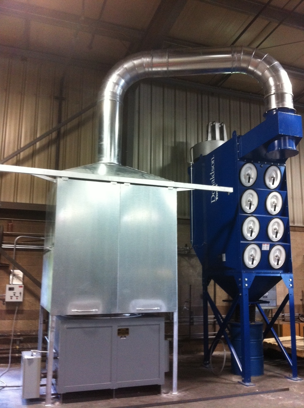 Dust Enclosures and Capture Hoods  Ambient Air Cleaning
