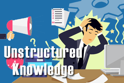 unstructured knowledge