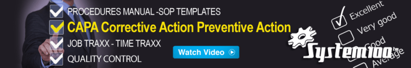 CAPA Corrective Action Preventative Action Software