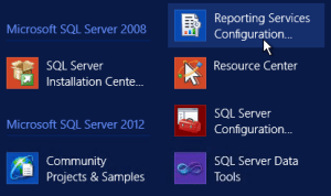 sccm 2012 reporting services