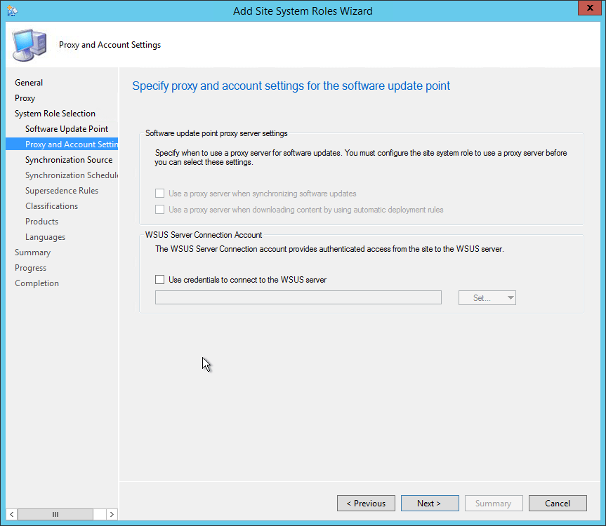 system center 2012 endpoint protection manual update