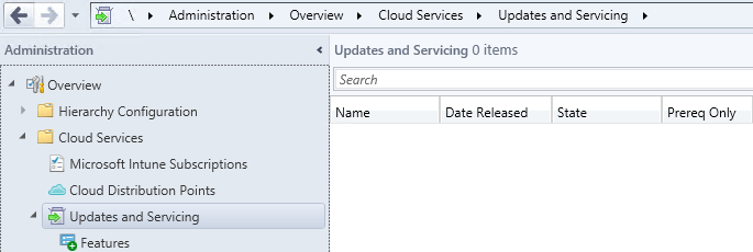 SCCM 1511 New features