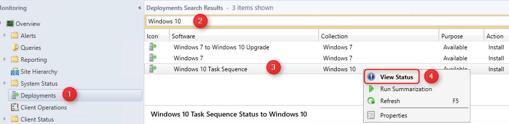 Monitor SCCM Task Sequence Progress