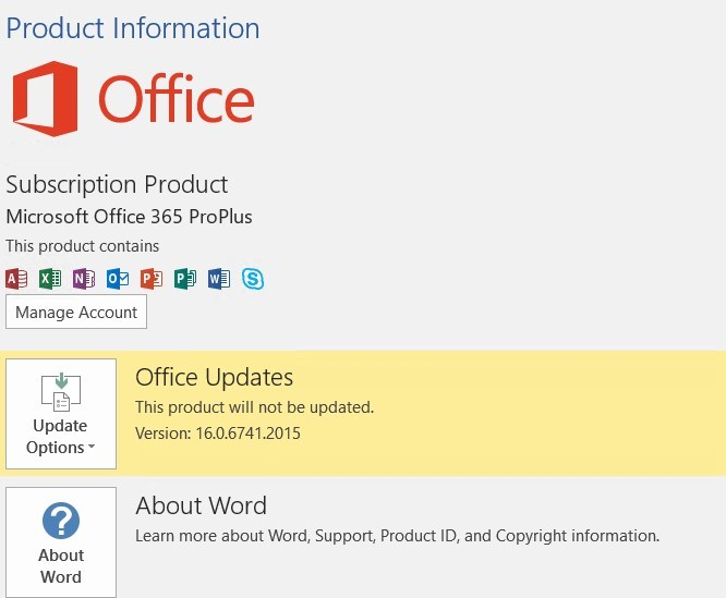 SCCM Office 365