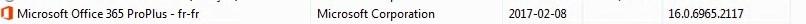SCCM Upgrade Office 365 2013