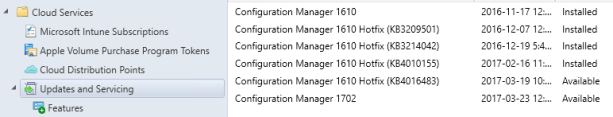 Step-by-Step SCCM 1702 Upgrade Guide