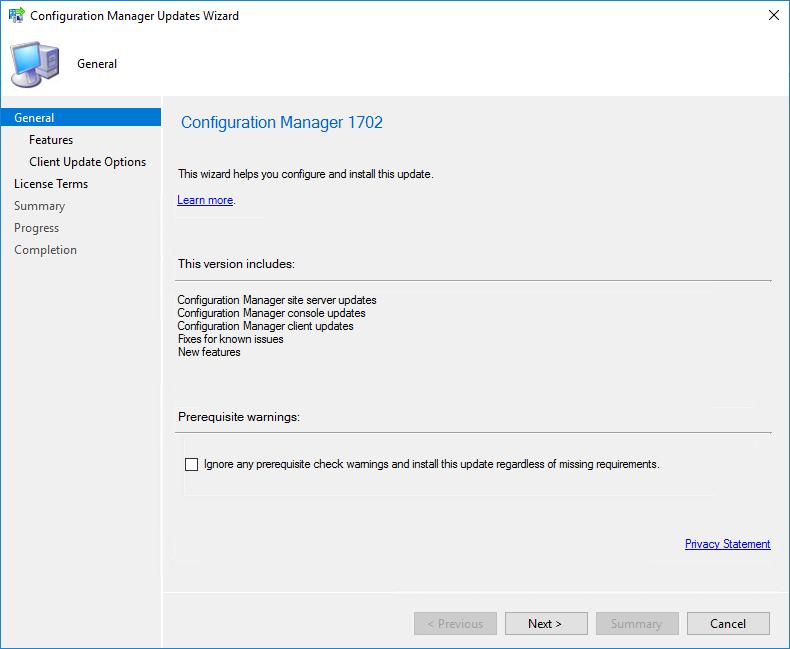 Installer Status 0