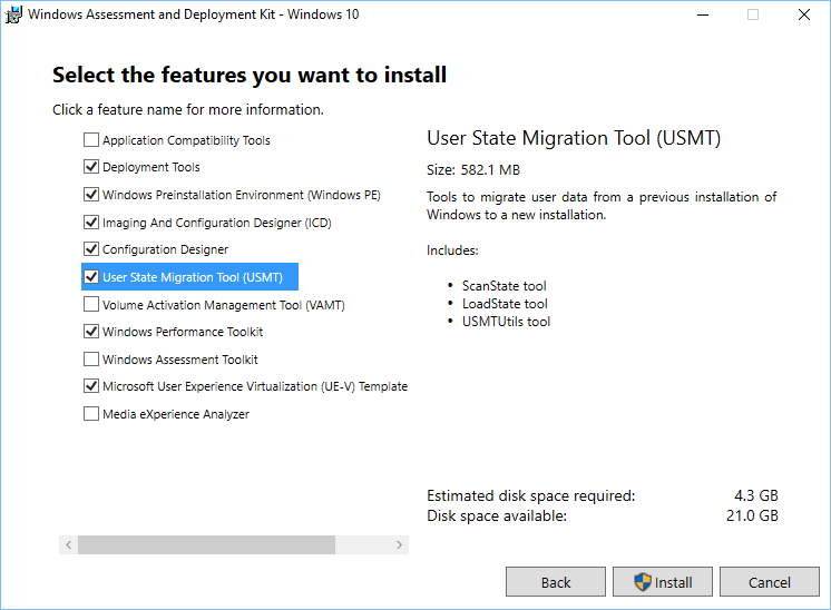 Windows 10 ADK Version History