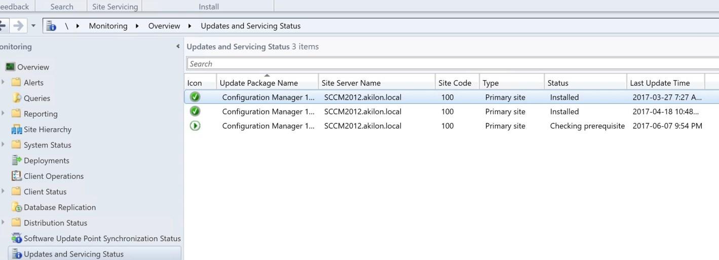 SCCM 1702 Update Rollup 1