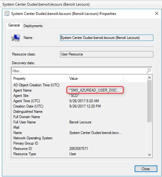 SCCM Azure Active Directory