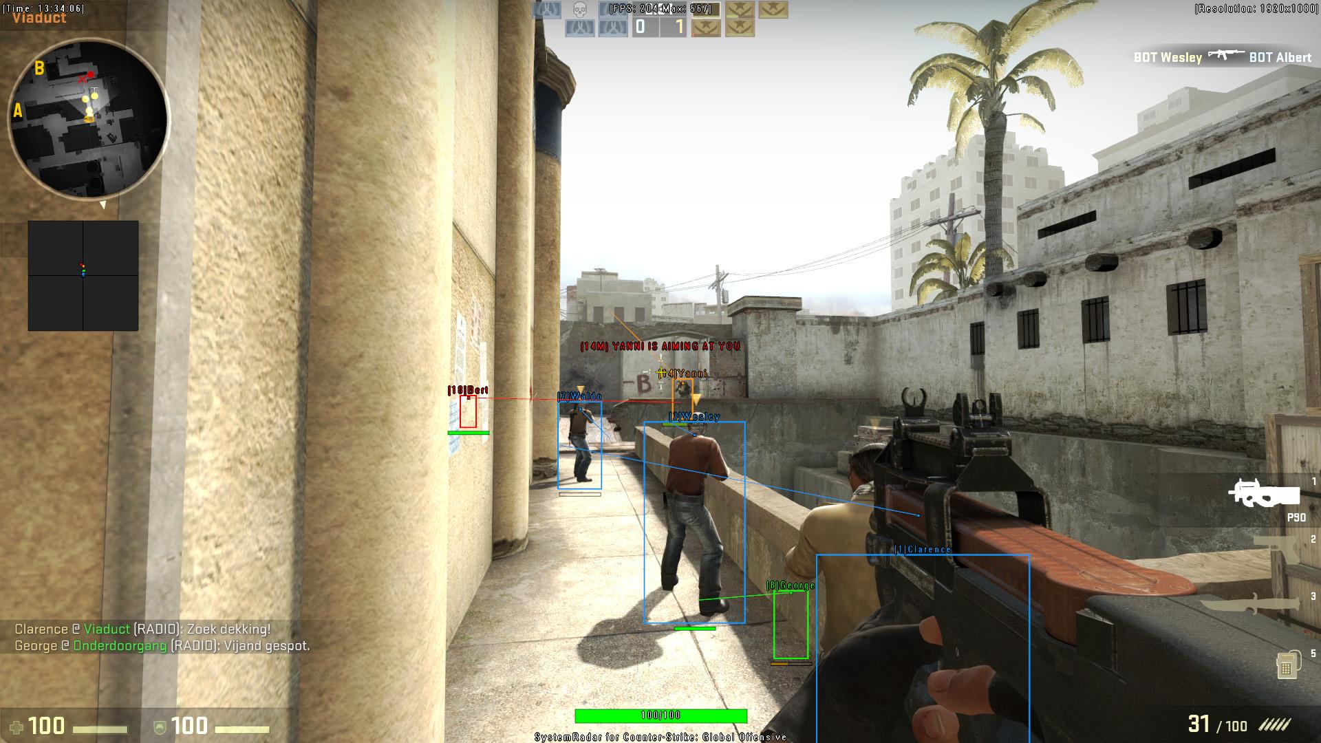 Counter Offensive Strike Global Hack Aim