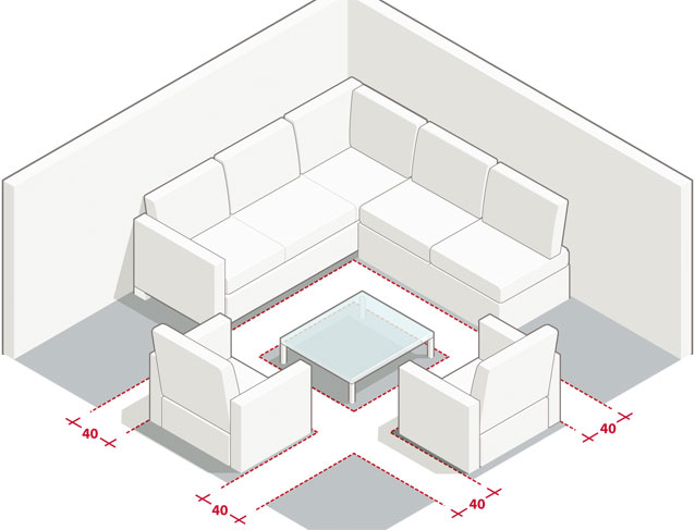 Mesures Et Dimensions Pour Amnager Un Salon
