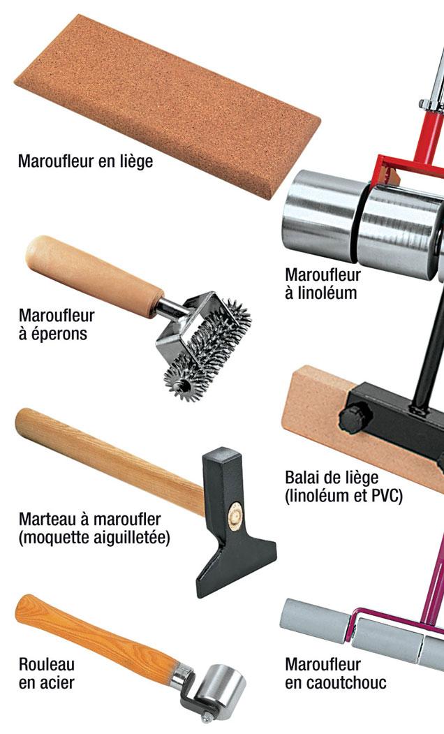 Les outils de base pour poser moquette et PVC
