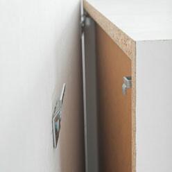 fixation meuble haut cuisine ikea placo   moregs - Meubles Haut Cuisine Ikea