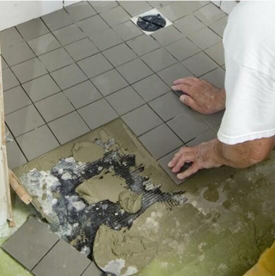 murs et de sol pour la salle de bains