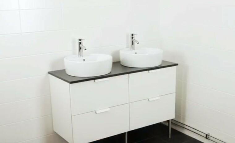 Comment Poser Un Meuble Double Vasque Dans Une Salle D Eau