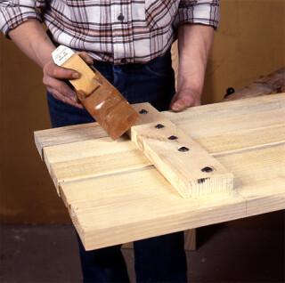 Comment Fabriquer Des Volets Battants En Bois De Sapin