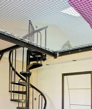 Installer Un Filet Interieur Sur Une Mezzanine
