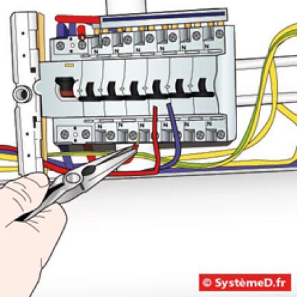 Raccorder chaque circuit à son disjoncteur