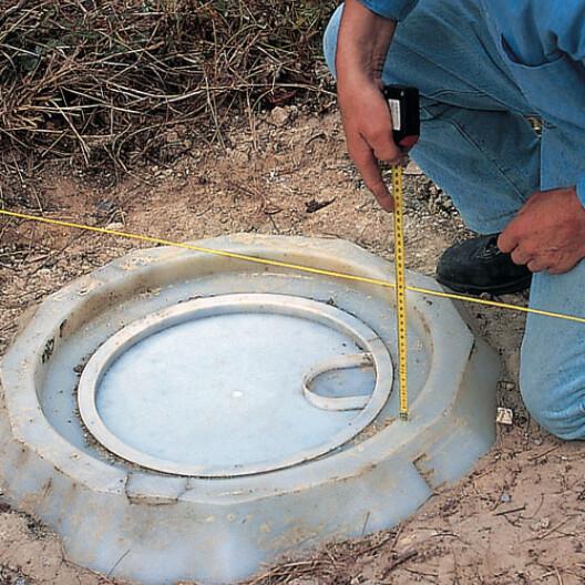 fabriquer une rehausse pour fosse septique