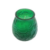 Venetian Glass Table Lamp with Candle
