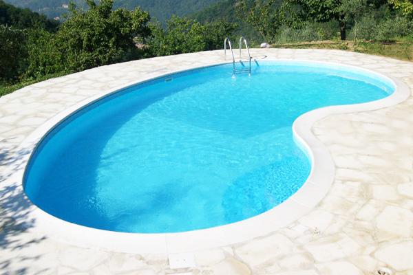 Realizzazione piscine interrate  System Pool a Lucca  Toscana