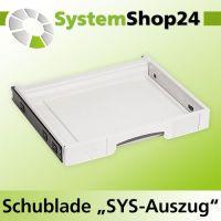 TANOS Schublade SYS-Auszug einzeln, Systemshop24.de  Ihr ...