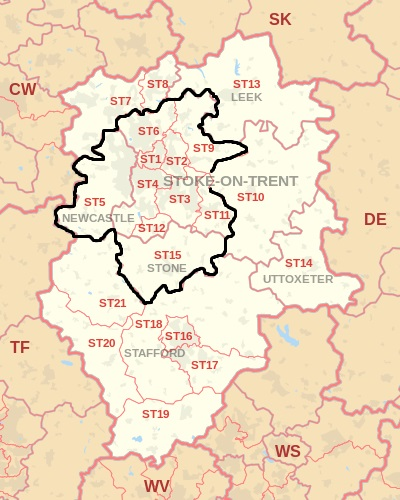 SystemTek - Postcode Map - PA Hire
