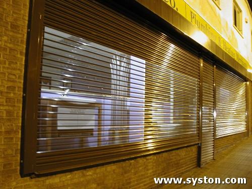 Steel Rolling Shutters - Syston Doors