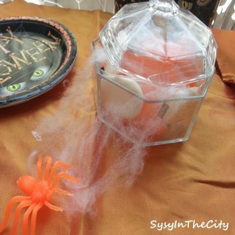candies araignée halloween
