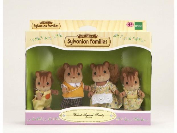 famille écureuil