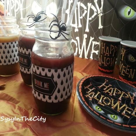 table drink halloween