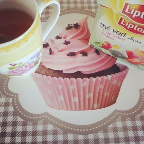 thé cupcake