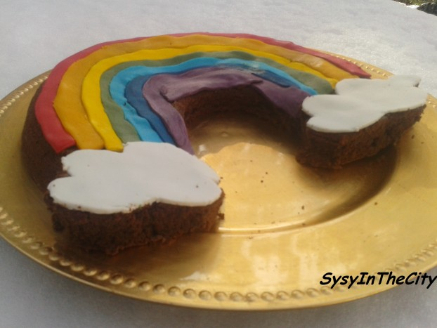 gâteau arcenciel sysyinthecity