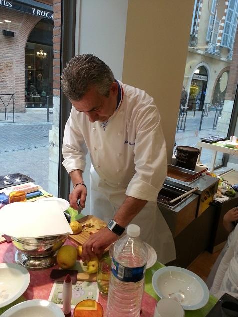 Philippe Urraca Atelier choco