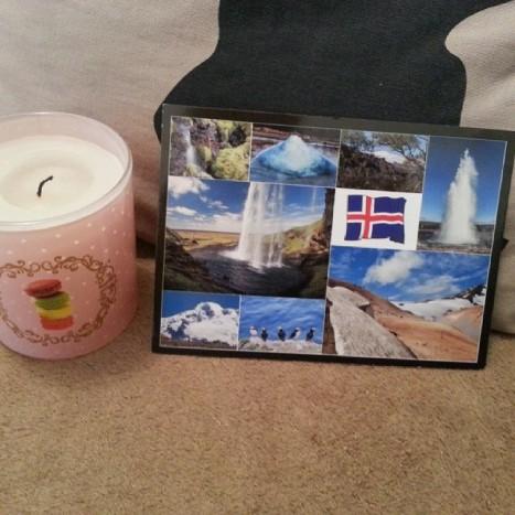 carte postale islande