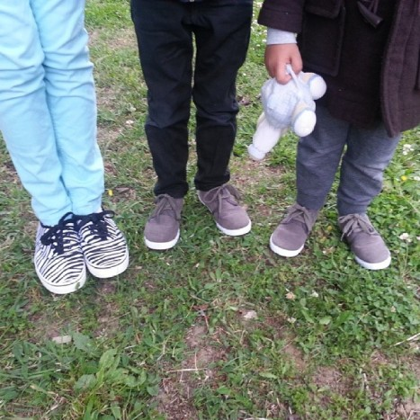 chaussures zèbre