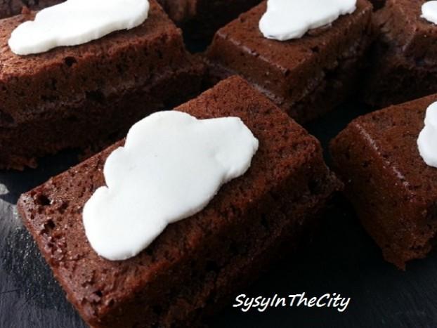 gâteau choco nuage