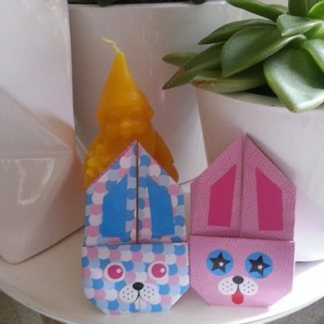 lapins origami