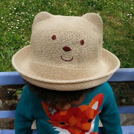 chapeau ourson