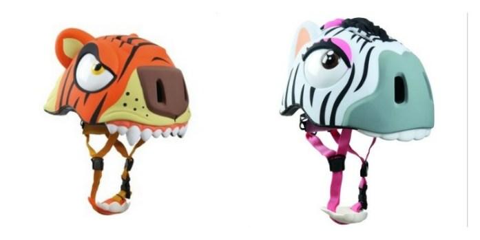 casque tigre zebre