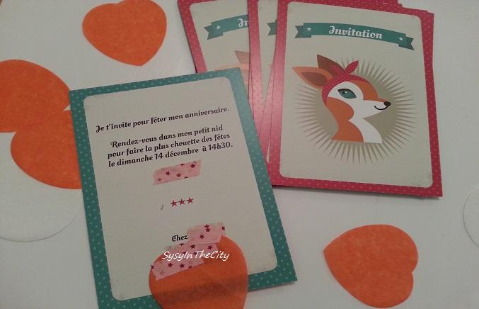 Chouette cards invit
