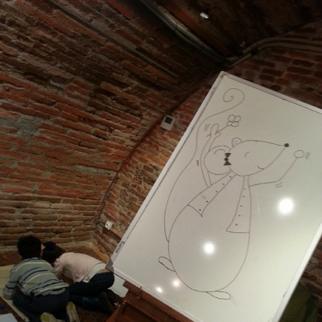 atelier dessin violette mirgue toulouse sysyinthecity