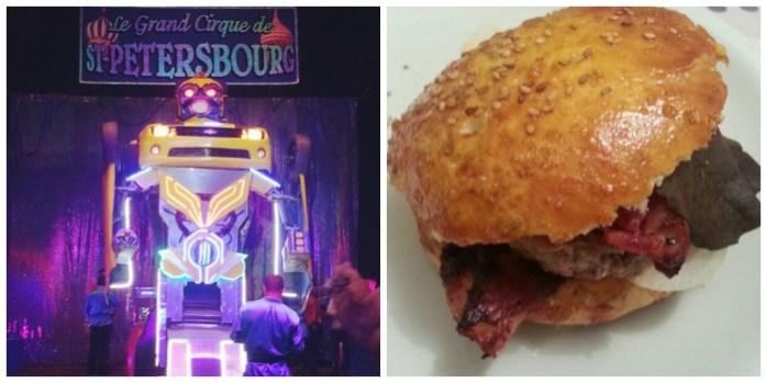 cirque hamburger