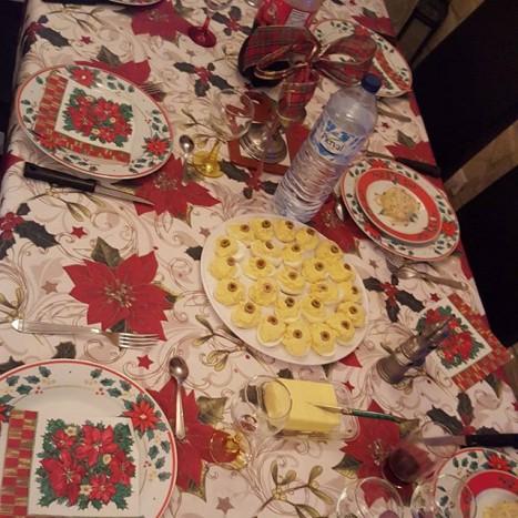 table fêtes