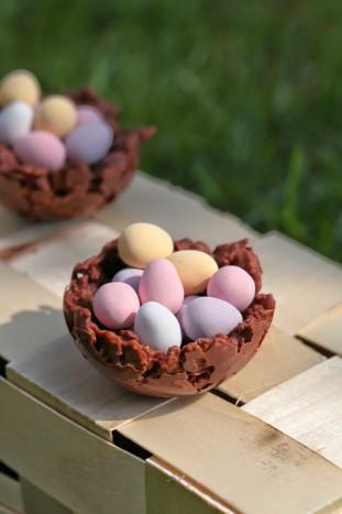 nid chocolat
